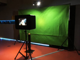 Photobooth con greenscreen <br>(Croma key)